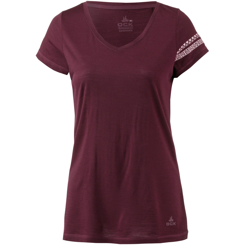 OCK Merino V-Shirt Damen