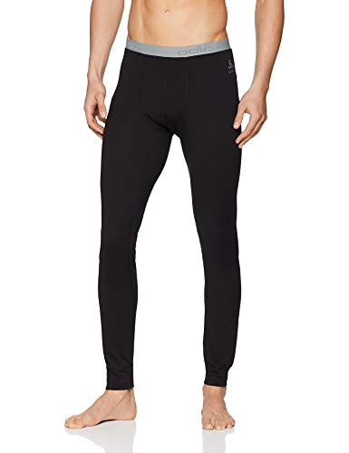 Odlo Herren SUW Bottom Pant Natural 100% Merino Unterhose, Black, M
