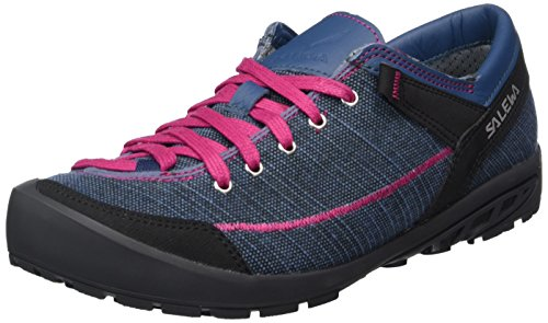 Salewa Damen ALPINE ROAD Halbschuh Oxford, Blau (Washed Denim/Fuchsia 8585), 38.5 EU