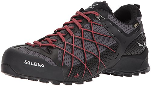 SALEWA Herren MS Wildfire Gtx Wanderschuhe, Mehrfarbig (Black Out/Bergot), 41 EU