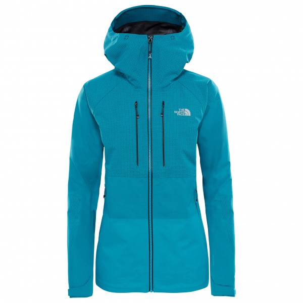 The North Face - Women's Summit L5 Fuseform GTX Jacket - Regenjacke Gr L türkis/blau