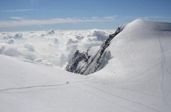 Monte Rosa-Massiv (4000 auf Skiern)