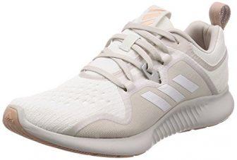 adidas Damen Edgebounce Fitnessschuhe, Weiß (Ftwbla/Griuno/Percen 000), 40 2/3 EU