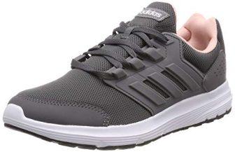 adidas Damen Galaxy 4 Laufschuhe, Grau Grey/Footwear White 0, 39 1/3 EU