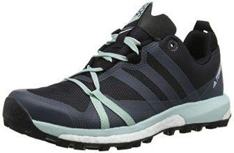 adidas Damen Terrex Agravic GTX Traillaufschuhe, Grau (Carbon/Gritre/Vercen 000), 39 1/3 EU