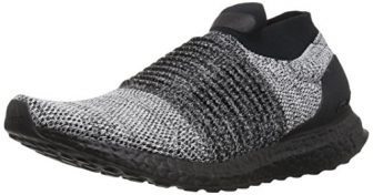 adidas Men's Ultraboost Laceless,black/black/white,14 M US