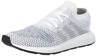 adidas Unisex-Erwachsene Swift Run Primeknit Laufschuhe, Weiß (Footwear Off White/core Black), 39...