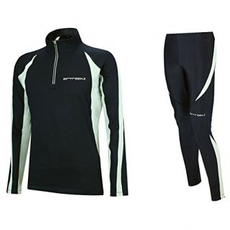 Airtracks Winter Funktions Laufset/Thermo Laufhose Lang Pro + Thermo Laufshirt Langarm Pro...