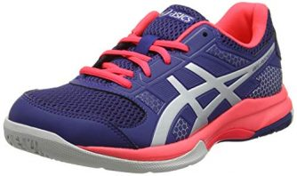 ASICS Damen Gel-Rocket 8 Volleyballschuhe, Blau (Blue Print/Silver 400), 40.5 EU
