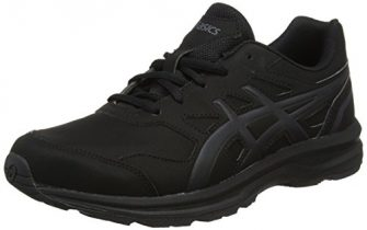 ASICS Herren Gel-Mission 3 Walkingschuhe, Schwarz (Blackcarbonphantom 9097), 44.5 EU
