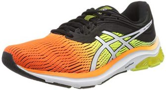 ASICS Herren Gel-Pulse 11 Laufschuhe, (Shocking Orange/Black 800), 44.5 EU