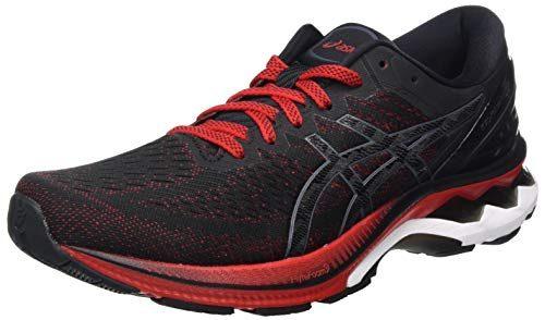 ASICS Mens Gel-Kayano 27 Running Shoe, Rouge VIF/Noir,42 EU