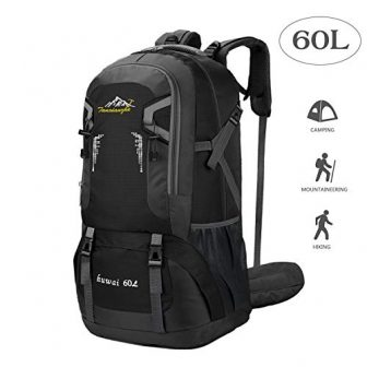 BeGreat 60L Backpacker Rucksack, Ultraleicht Wasserdicht Wanderrucksack Backpacker-Rucksack Reiserucksack Bergsteigtasche für Wandern,...