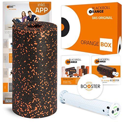 blackroll-orange Booster-Set Standard (inkl. Standard-Rolle, Booster Booklet, Übungs-Booklet und optionale kostenlose App)