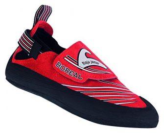 BOREAL Ninja Junior Sportschuhe, Kletterschuhe für Kinder, rot - rot - Größe:...