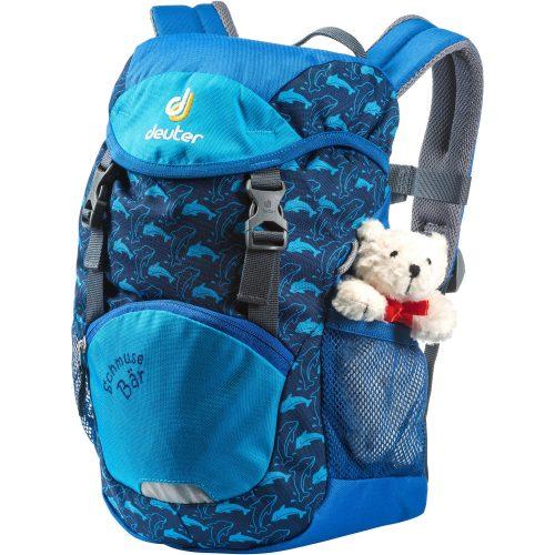 Deuter Kinderruckack mit Schmusebär Wanderrucksack Kinder