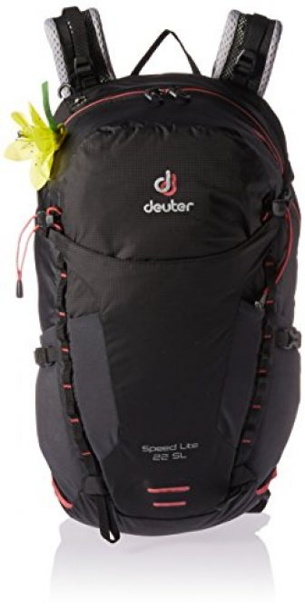 Deuter Speed Lite 22 SL Rucksack, 51 cm, 22 Liter, Black