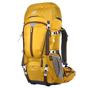 Eshow Trekkingrucksäcke Backpacker Rucksack Reiserucksack für Reisen Wandern und Bergsteigen Wasserdicht Ultraleicht...