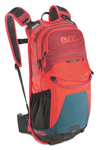 EVOC Sports GmbH Stage Performance Rucksack petrol/red/ruby 50 x 28 x 9...