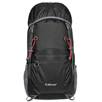G4Free 40L Wasserdichter Ultraleicht Faltbarer Trekkingrucksack Backpacker Rucksack