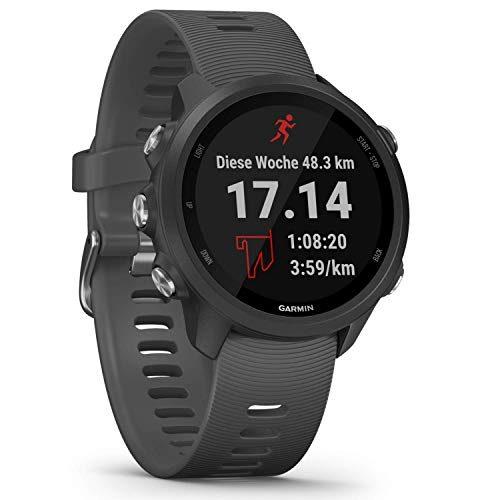"""Garmin Forerunner 245 – GPS-Laufuhr mit individuellen Trainingsplänen, speziellen Lauffunktionen und detaillierter Trainingsanalyse. 1,2"""" (3 cm) Farbdisplay, Akkulaufzeit bis zu..."""