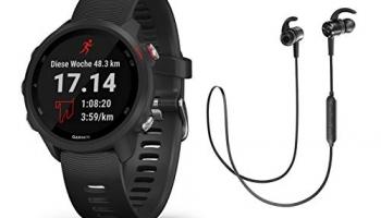 Garmin Multisportuhr Forerunner 245 Music GPS Test