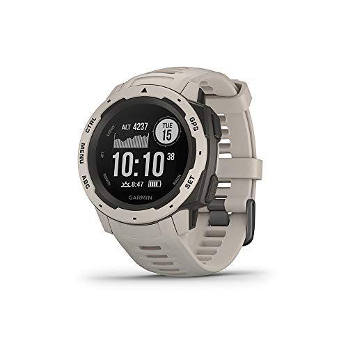 Garmin Outdoor-Smartwatch Instinct Hellgrau/Schiefergrau 010-02064-01