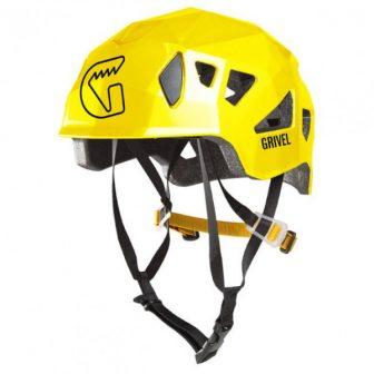 Grivel - Stealth - Kletterhelm Gr 55-61 gelb/schwarz/orange