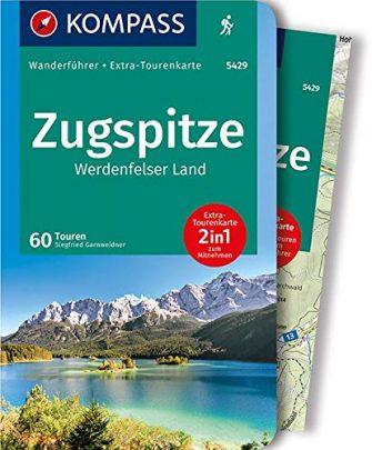 KOMPASS Wanderführer Zugspitze, Werdenfelser Land: Wanderführer mit Extra-Tourenkarte 1:40.000, 60 Touren, GPX-Daten...