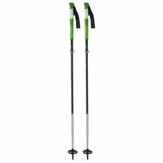 Komperdell - Carbon Ultralite Vario 4 - Skitourenstöcke Gr 120-145 cm schwarz/grün