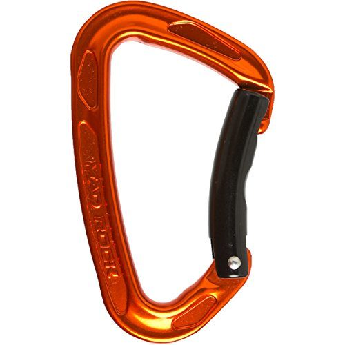 Mad Rock Super Tech Bent Carabiner (Orange)