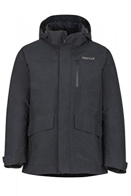 Marmot Herren Yorktown Featherless Isolierte Winterjacke, Stylischer Warmer Parka, Wasserdicht, Winddicht, Black, M