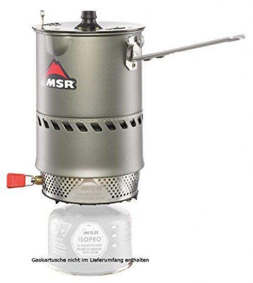MSR Reactor - Ultra effektives Kochersystem mit Topf (1,0 Liter)