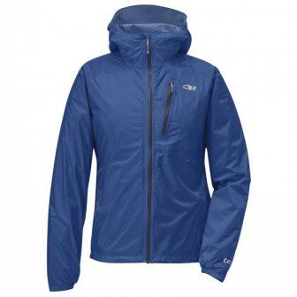 Outdoor Research - Women's Helium II Jacket - Regenjacke Gr L schwarz;blau