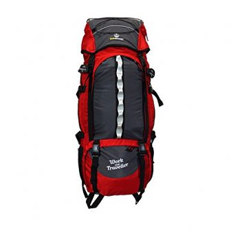 outdoorer Work and Travel Rucksack Work & Traveller 75+10, 85l Volumen, Frontzugriff...