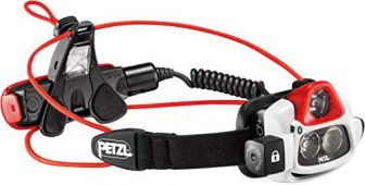 Petzl Erwachsene Nao Plus Stirnlampe, Black/Red, One Size