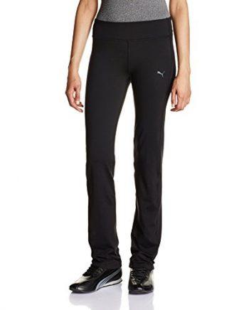 Puma Damen Straight Leg Hose, black, L/S, 512809 01