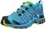 Salomon Damen XA Pro 3D W, Trailrunning-Schuhe, Blau (Bluebird/Caneel Bay/Acid...