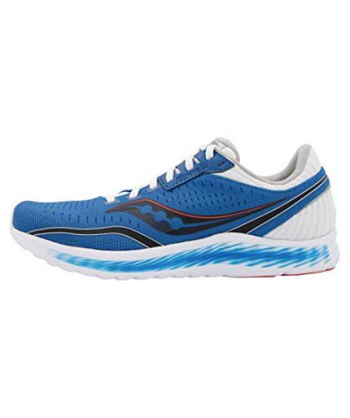 Saucony Herren Kinvara 11 Leichtathletik-Schuh, Blue Black, 41 EU