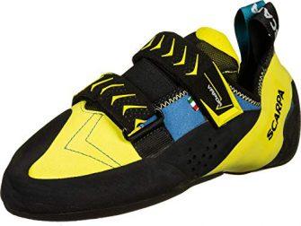 Scarpa Schuhe Vapor V Men Größe 43,5 Ocean/Yellow