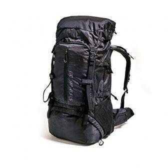 Steinwood Backpacker Rucksack 70L - Backpacker-Rucksack Outdoor-Rucksack Wanderrucksack wasserabweisend mit Regenhülle
