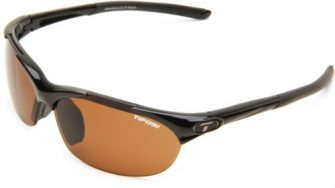 Tifosi Wisp Sunglasses Gloss Black Laufbrille