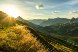 Tirol bietet den Wanderern die schönsten Routen des Landes