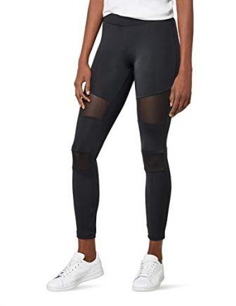 Urban Classics Ladies Tech Mesh Leggings, Schwarz (black 7), M