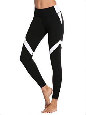 V FOR CITY Damen Sport Leggings Yoga Pants Lang Laufhose Thermo Jogginghose...