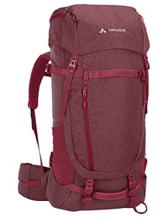 Vaude Damen Astrum Evo Backpacker Rucksack, Prunella, 77 x 32 x 27...