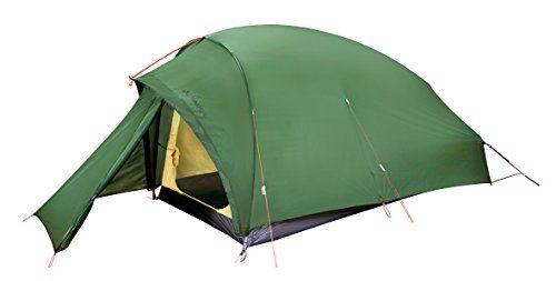 6. VAUDE Zelt Taurus UL 2P, green, sehr leichtes Zelt für Bergsteiger