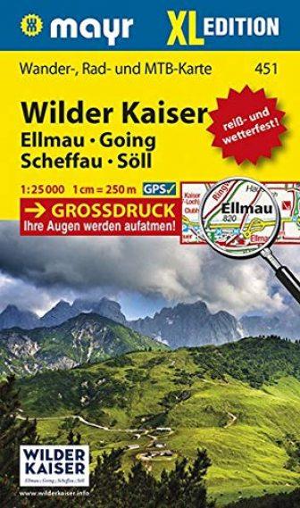 Wilder Kaiser - Ellmau - Going - Scheffau - Söll XL: Wander-,...