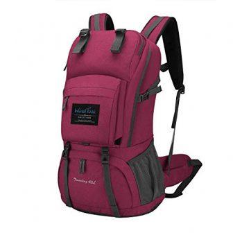 Wind Took 40L Damen Rucksack Backpacker Rucksack Daypack mit Regenschutz, 55 x...