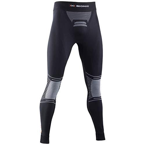 X-Bionic Herren Energizer 4.0 Men Pants, Opal Black/Arctic wh, L